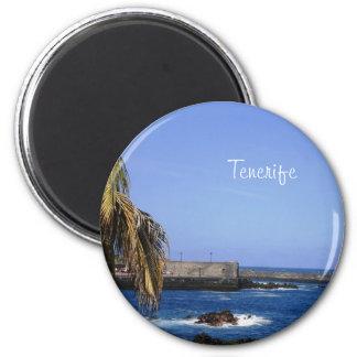 Teneriffa/Teneriffa 05 Runder Magnet 5,7 Cm