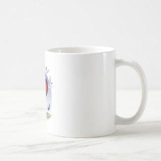 Tennesse Hauptherz, tony fernandes Kaffeetasse