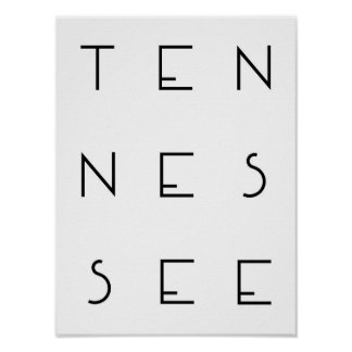 Tennesse Plakat