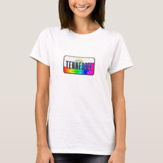 Tennesse Regenbogen-Staatst-stück T-Shirt