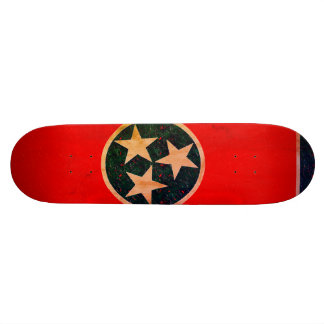 Tennessee-Flagge 19,7 Cm Skateboard Deck