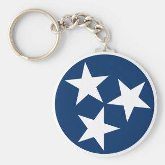 Tennessee-Flagge Schlüsselanhänger