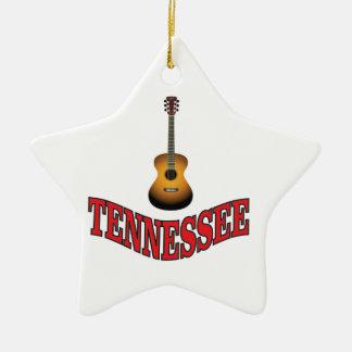 Tennessee-Gitarre Keramik Ornament