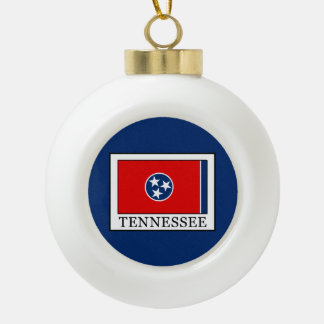 Tennessee Keramik Kugel-Ornament
