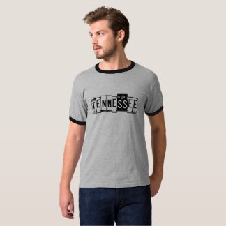 Tennessee-Lizenz-Platten-T - Shirt