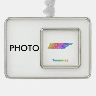 Tennessee Rahmen-Ornament Silber
