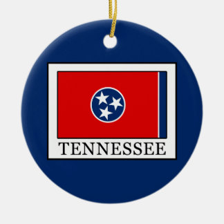 Tennessee Rundes Keramik Ornament
