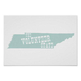 Tennessee-Slogan Poster