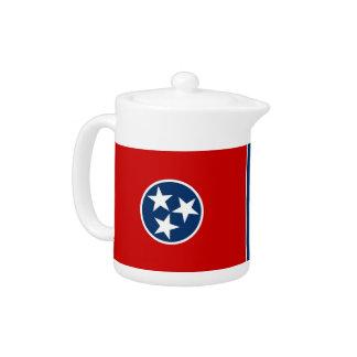 Tennessee-Staats-Flaggen-Teekanne
