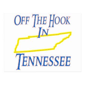 Tennessee - weg vom Haken Postkarte