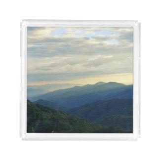 Tennessee-Wolken Acryl Tablett