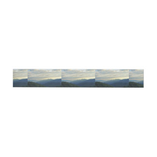 Tennessee-Wolken Rundum-Adressaufkleber