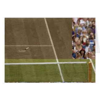 Tennis-Anschlag Karte