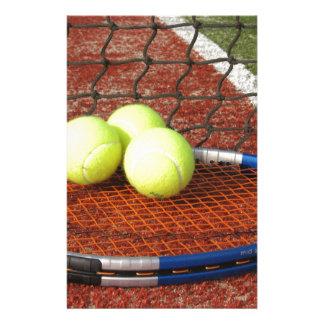 Tennis Briefpapier