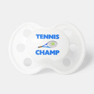 Tennis-Champion Schnuller