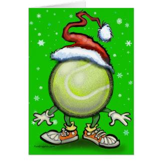 Tennis Chrsitmas Karte