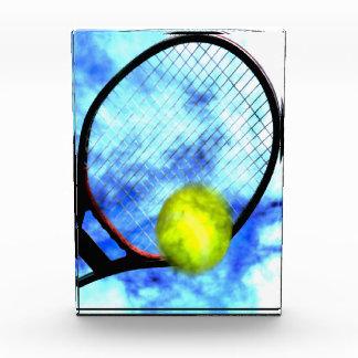 Tennis-den ganzen Tag Schmutz-Art Auszeichnung