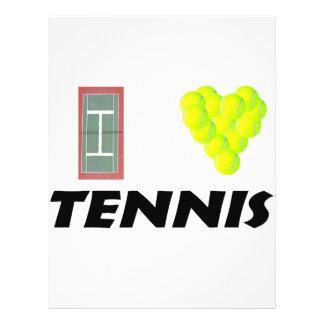 Tennis der Liebe I 21,6 X 27,9 Cm Flyer