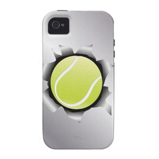 Tennis durch Metallblatt Case-Mate iPhone 4 Cover