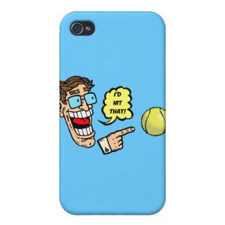 Tennis I würde das schlagen iPhone 4 Cover