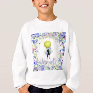 Tennis in der Welt Sweatshirt