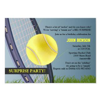 Tennis jedermann? Einladung 12,7 X 17,8 Cm Einladungskarte