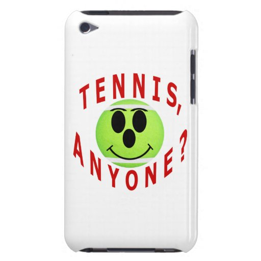 Tennis jedermann? Lustiger Tennis-Geschenk-Speck i Barely There iPod Cover