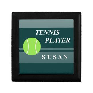 Tennis Kleine Quadratische Schatulle