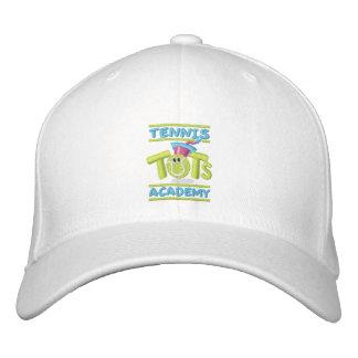 Tennis-Knirps-Akademie stapelte Logo, Namen, Bestickte Baseballkappe
