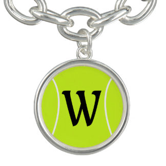Tennis-kundenspezifisches Charm Armband