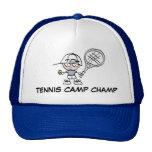 Tennis-Lager-Champions-Hut Kultcaps