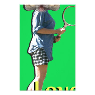 Tennis-Liebe Briefpapier