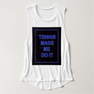 Tennis ließ mich es tun tank top