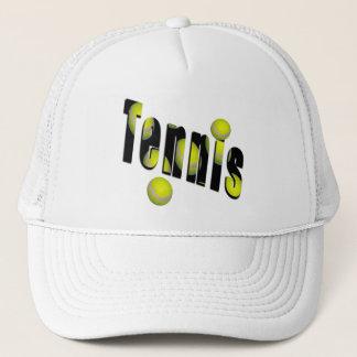 Tennis-Maßlogo, Truckerkappe