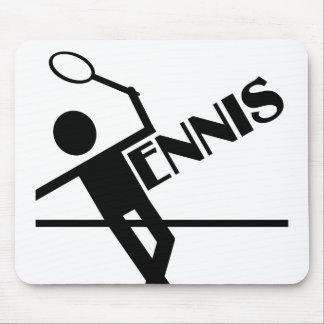 Tennis mousepad, fertigen besonders an