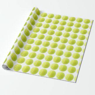 Tennis-Packpapier Geschenkpapier