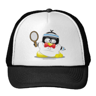 Tennis-Pinguin Netzcap