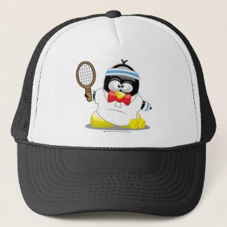 Tennis-Pinguin Truckerkappe