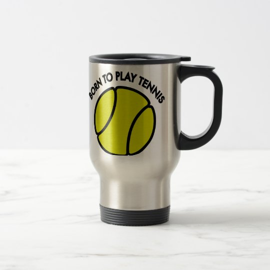 Tennis Reisebecher