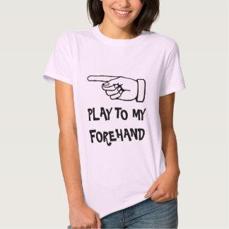 Tennis-Shirt des Mädchens mit lustigem Zitat-Spric Tshirts
