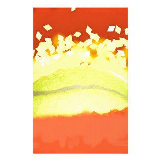 Tennis-Sonnenschein Briefpapier