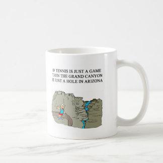 TENNIS-Spieler-Geschenk-T - Shirts Kaffeetasse