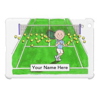 Tennis-Spieler, Mann iPad Mini Hülle