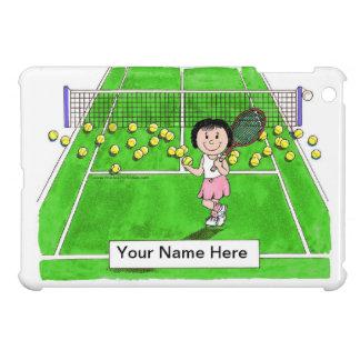 Tennis-Spieler, weiblich iPad Mini Hülle