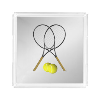 Tennis-Sport-Thema Acryl Tablett