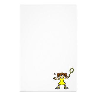 Tennis-Süsse Briefpapier