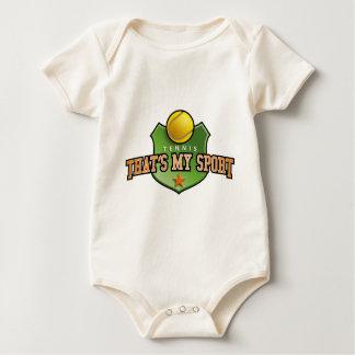tennis - that's my sport baby strampler