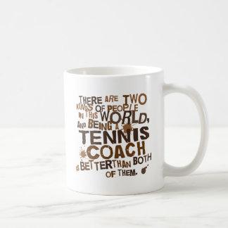 Tennis-Trainer-Geschenk Kaffeetasse