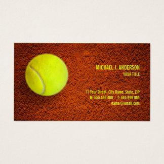 Tennis-Trainer-Sport Visitenkarte