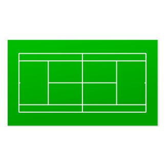 Tennis-Trainer-Visitenkarte Visitenkarten